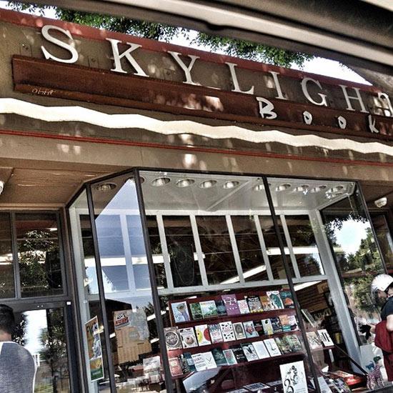 """Image <a href=""""https://foursquare.com/v/skylight-books/4a0871e0f964a520c9731fe3/photos?openPhotoId=51d9ec62498eaf46ce091024"""">via</a>"""