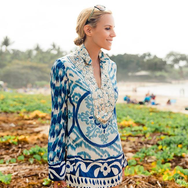 Tory—and her tunics—are coming to NorthPark Center. Image via Tory Burch/Facebook.