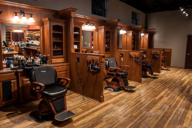 Images courtesy of Jason Colston for Roosters Men's Grooming Center of Georgetown