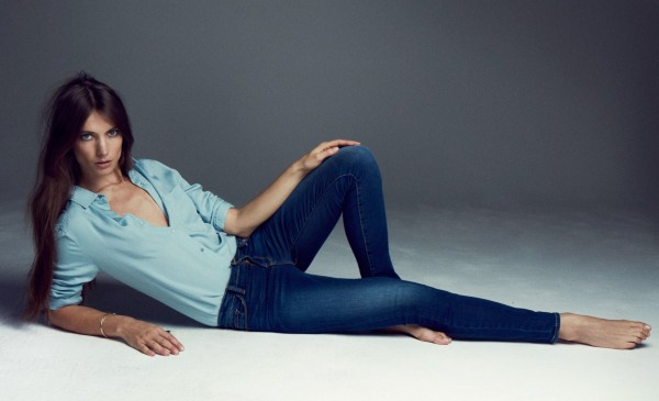 One of Frame Denim's first campaigns got us in the mood for blue