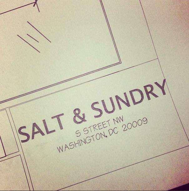 """Image via Salt &amp; Sundry/<a href=""""http://instagram.com/p/mqExB4Durw/"""">Instagram</a>"""