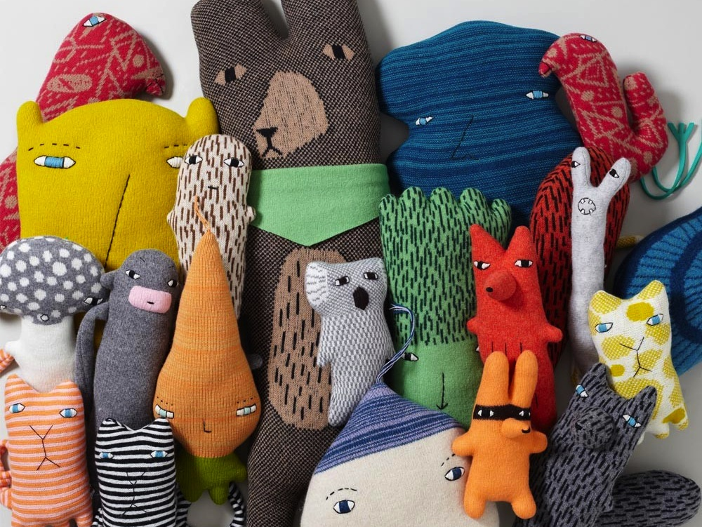 """Donna Wilson's Creature Family, <a href=""""http://www.thefutureperfect.com/objects/creature-family.html"""">$49 and up</a> at The Future Perfect"""