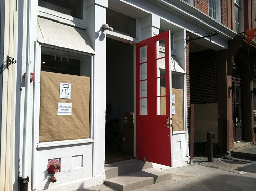 """""""We need to get the outside washed and painted so don't judge!"""" says co-founder Ashley Peel Pinkham. Image credit: <a href=""""http://philadelphiaindependents.com/home.html"""">Philadelphia Independents</a>"""