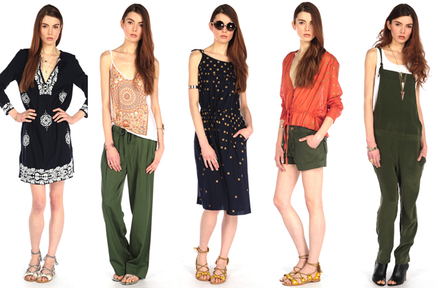 """House of Harlow clothing. Image via <a href=""""http://fashionista.com/2014/03/house-of-harlow-debuts-1st-full-ready-to-wear-collection/"""">Fashionista</a>."""