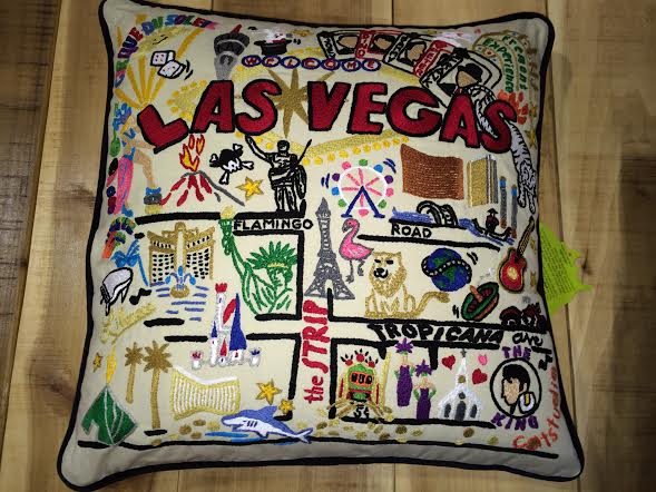 Cat Studio Las Vegas pillow, $158 or $148 unstuffed