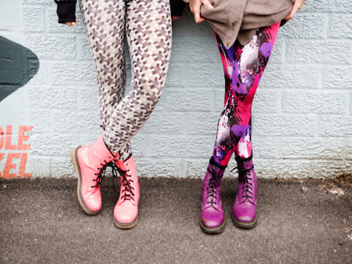 """Photo: <a href=""""http://www.styleite.com/news/tween-girls-outraged-over-schools-ban-on-leggings/"""">via</a> Styleite"""