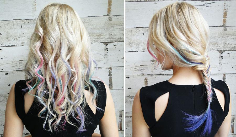 Looks created by SalonCapri Senior Stylist Caitlyn Young