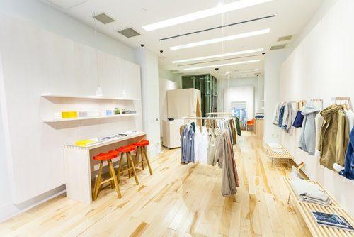 Gap's Lived In pop-up shop. Image via Gap.