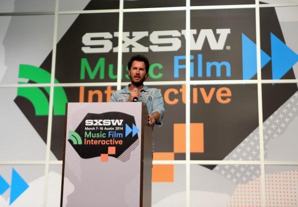 Blake Mycoskie spoke today at SXSW. Image via Getty