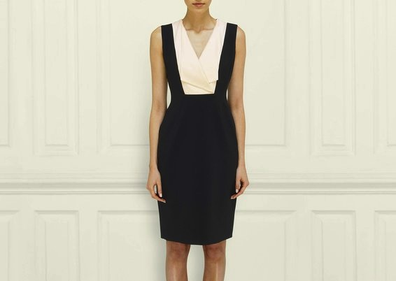 """The Albany Tuxedo dress, currently on sale for <a href=""""http://us.lkbennett.com/Clothing/Black-Ribbon-Collection/Albany-Tuxedo-Dress/p/BRDRALBANYWOOLMIXBlackBlack?nr=12&amp;product=12&amp;show=All"""">$412</a>"""
