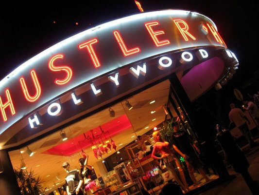 "Hustler Hollywood. Photo by Dave Hong via <a href=""http://www.yelp.com/biz_photos/hustler-hollywood-west-hollywood#NQiaLzQSHnARFVAtcmSikQ"">Yelp</a>."