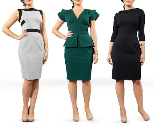 "Dresses from <a href=""http://carriehammer.com/dresses"">Carrie Hammer</a>"