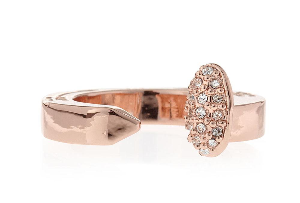 "<a href=""http://www.bergdorfgoodman.com/Giles-Brother-Pave-Railroad-Spike-Ring-Rose-Golden/prod94800028/p.prod?ecid=BGALR&amp;ci_src=14110925&amp;ci_sku=prod94800028skuROSEGOLD"">Giles &amp; Brother Pave Railroad Spike ring in rose gold</a>, $80 at B"