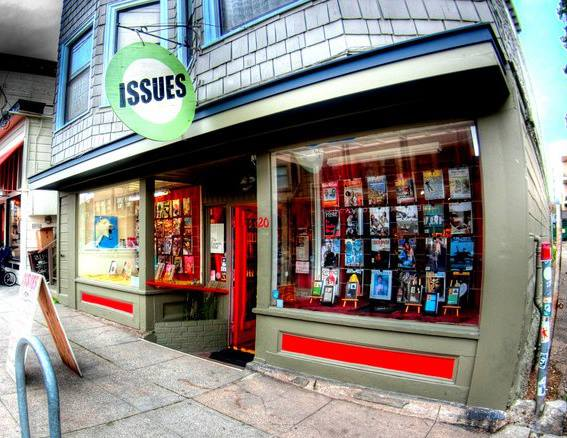 """For magazine junkies, Issues in Oakland runs the gamut; photo via Issues' <a href=""""https://www.facebook.com/ISSUESSHOP"""">Facebook</a>"""