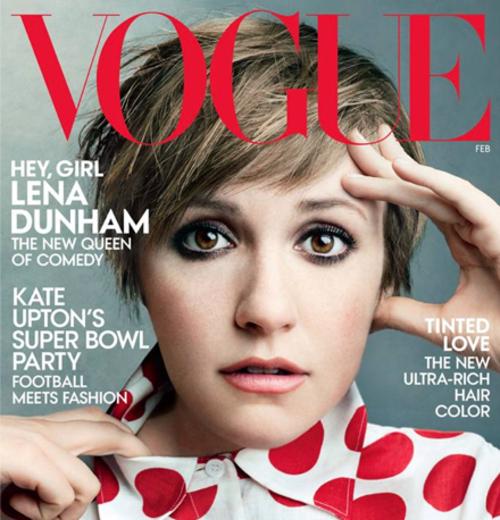 Vogue Cover Star Lena Dunham is a J Brand Fangirl