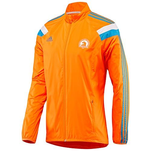 "adidas 2014 Official Boston Marathon Celebration Jacket, <a href=""http://www.adidas.com/us/product/mens-running-boston-marathon-celebration-jacket/WJ141?cid=D80169&amp;breadcrumb=1z13uluZ1z13071Z1z11zrf"">$110</a>"
