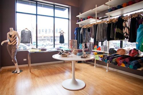 """Photo: Tula boutique, <a href=""""http://tulayoga.net/"""">via</a> Tula"""