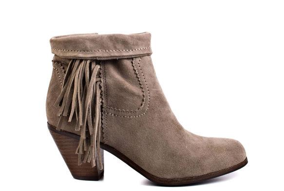 "Sam Edelman Louie <a href=""http://www.amazon.com/Sam-Edelman-Womens-Louie-Fringe/dp/B004J21XFQ/ref=cm_cr_pr_product_top"">ankle fringe boot</a>, $96 to $160 on Amazon.com"