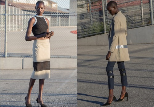 """Nomia spring 2014, via <a href=""""http://www.style.com/fashionshows/complete/S2014RTW-nomia"""">Style.com</a>."""