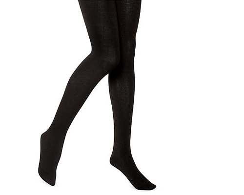 """HUE Brushed Sweater Tights, <a href=""""http://www.barenecessities.com/product.aspx?pfid=HUE14120"""">$15</a> at Bare Necessities"""