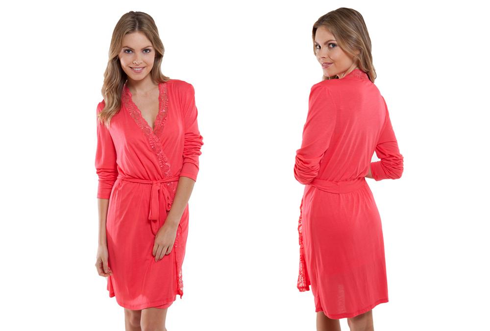 "Eberjey's Mila robe, <a href=""http://www.eberjey.com/intimate/robes/mila-robe.html"">$106</a>"