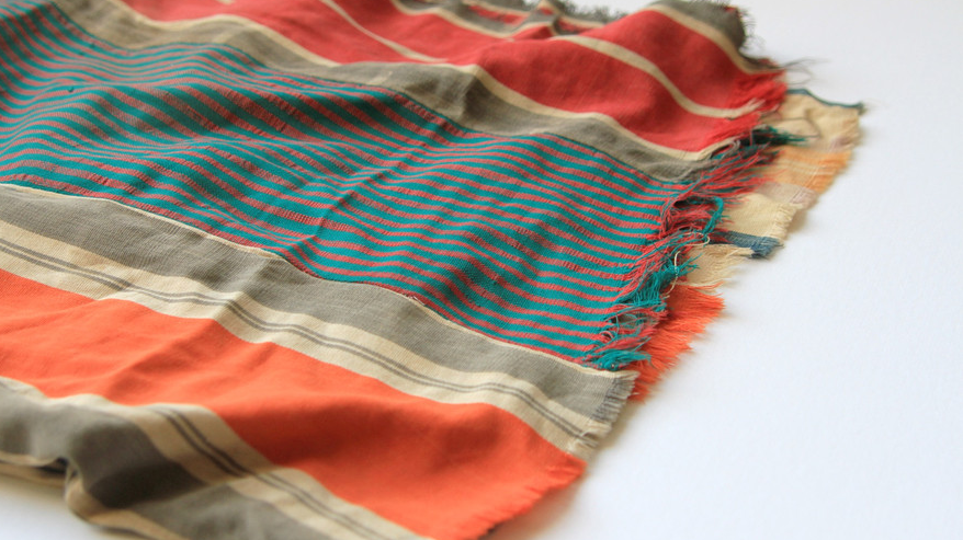 "Fabric from <a href=""http://peteldesign.com"">Petel Design</a>"