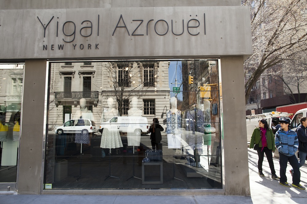 Yigal Azrouel moved from Meatpacking to Madison Avenue. Photo by Brian Harkin.