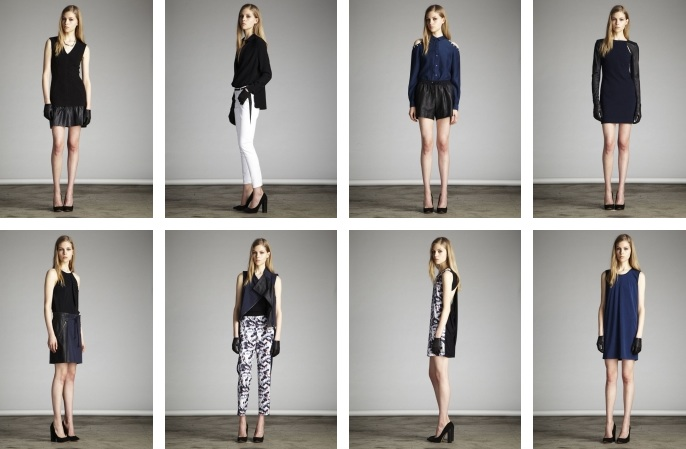 Looks from the Cut25 by Yigal Azrouël pre-fall collection