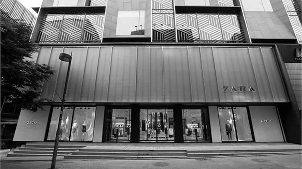 Zara in Seoul. Photo via Zara.