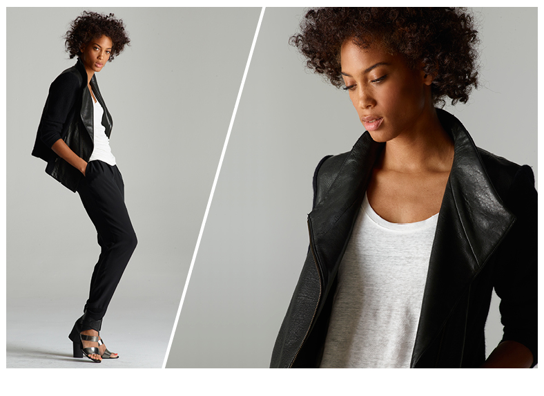 """An Eileen Fisher look. Photo via <a href=""""http://sf.racked.com/archives/2013/11/19/eileen-fisher-has-an-edgy-new-project-at-bloomingdales.php"""">Racked SF</a>"""