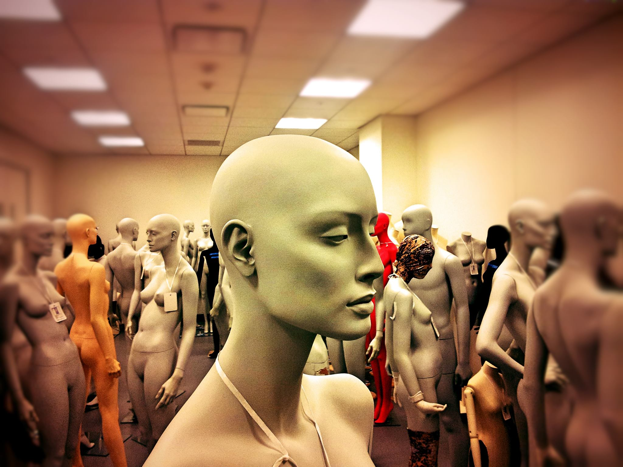 "Mannequins waiting for the PEM Avant-Garde Japanese Fashion exhibit via <a href=""https://www.facebook.com/photo.php?fbid=617582954949742&amp;set=pb.205951626112879.-2207520000.1384205665.&amp;type=3&amp;theater"">Facebook</a>"
