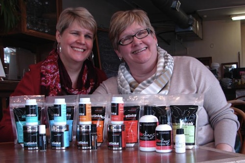 """Photo: <a href=""""http://www.dnainfo.com/chicago/20131101/beverly/lifestinks-sisters-sell-natural-organic-deodorant-out-of-beverly-home"""">via</a> DNA Info"""