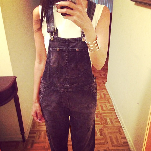 """Citizens of Humanity overalls in Surrender, <a href=""""http://www.revolveclothing.com/DisplayProduct.jsp?product=CITI-WR3&amp;c=2013-09-23&amp;n=n"""">$338</a> at RevolveClothing.com"""