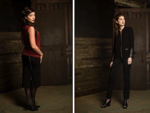 "The Kira skirt and Desiree pant are both 50% off this weekend. Image credit: <a href=""http://shop.savafashion.com/"">SA VA</a>"