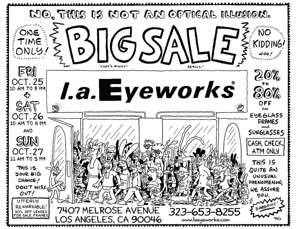 Flyer via l.a. Eyeworks