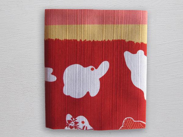 """Red Bunny Hop Pocket Square, <a href=""""http://oharrowclothiers.com/squares/red-bunny-hop"""">$35</a> at O'Harrow Clothiers"""