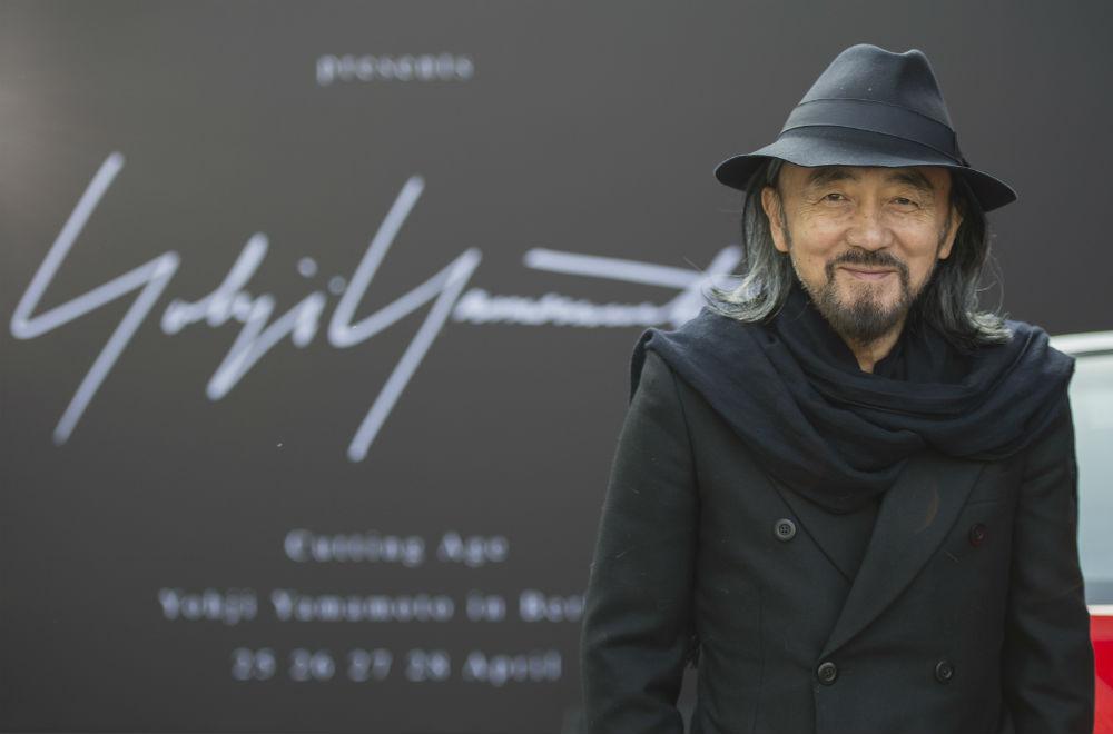 Yohji Yamamoto. Photo via Getty.