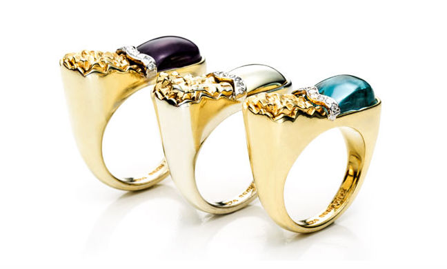 """Rings from the <a href=""""http://www.kararossny.com/the-petra-collection-fall-2013/"""">Petra Collection</a>"""