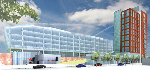 """Image via <a href=""""http://boston.curbed.com/archives/2012/11/new-brighton-rail-station-huntington-y-changes.php"""">Curbed Boston</a>"""