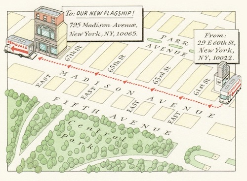 "Image via <a href=""http://anyasworld.anyahindmarch.com/2013/07/30/introducing-our-new-york-flagship/"">Anya Hindmarch</a>"