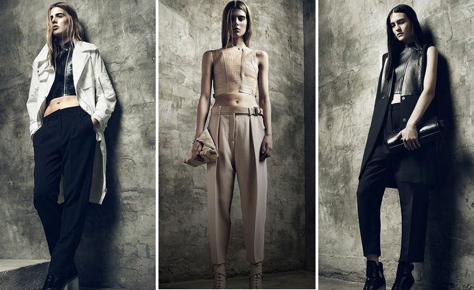 "Looks from Alexander Wang's <a href=""http://www.alexanderwang.com/lookbook/RESORT-2013/ready-to-wear-womens"">resort 2013 collection</a>"