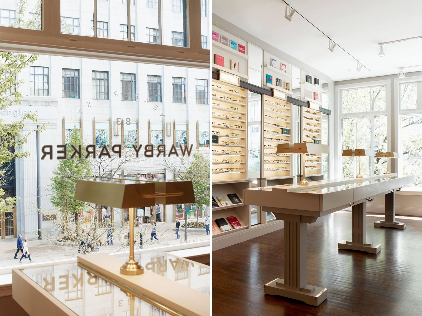 """Warby Parker's Boston showroom via <a href=""""https://www.facebook.com/photo.php?fbid=535332856518405&amp;set=a.535332853185072.1073741828.532997580085266&amp;type=1&amp;theater"""">Facebook</a>"""