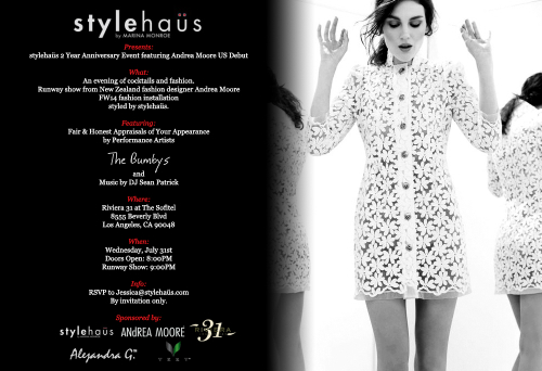 Flyer via Stylehaus