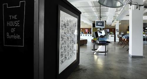 Designer Goods Pop Up At Bumble And Bumble Downtown