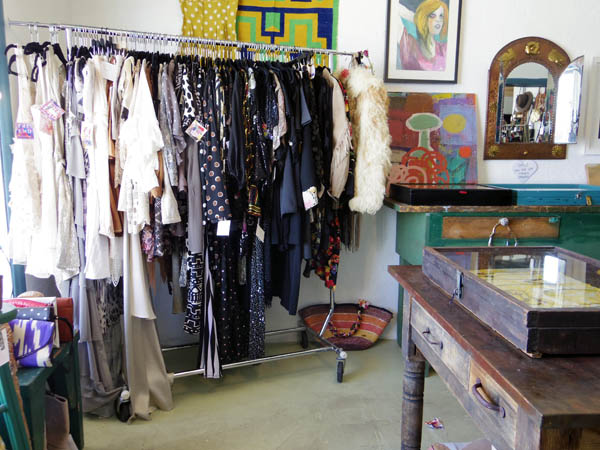 Designer resale boutique The End.