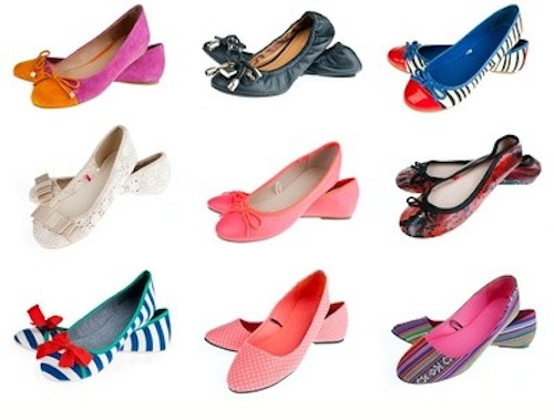 """Image via <a href=""""http://www.examiner.com/article/do-s-and-don-ts-for-flat-shoes"""">Examiner</a>"""