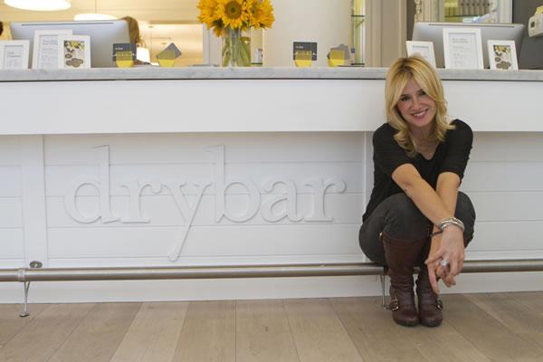 Drybar founder Alli Webb is excited