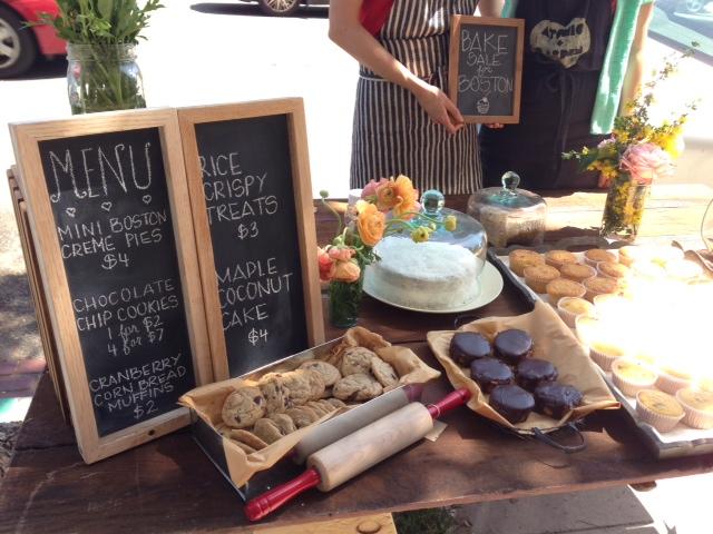 A previous, mouth-watering Atomic Garden bake sale