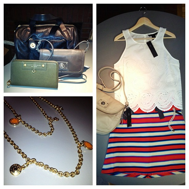 """Marc Jacobs items for sale via <a href=""""https://www.facebook.com/photo.php?fbid=281322265345304&amp;set=a.179373105540221.57997.169655363178662&amp;type=1"""">Newbury Collection</a>/Facebook"""