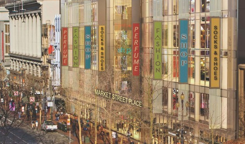 Rendering of Market Street Place via The Carlyle Group